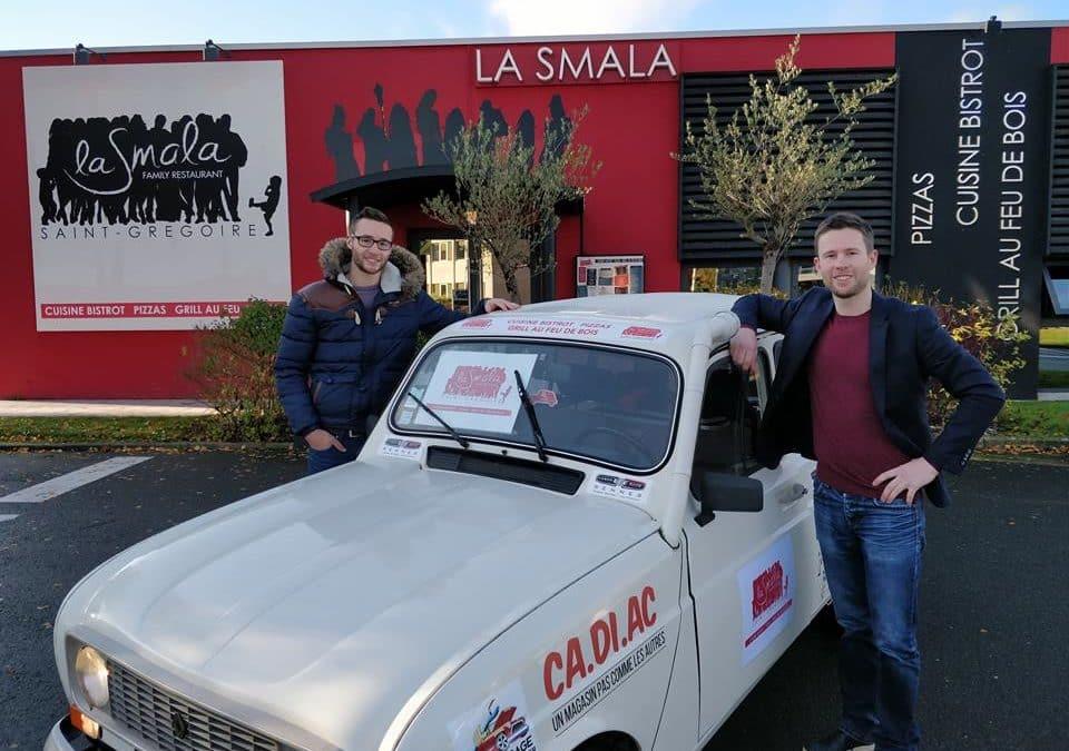 La Smala sponsorise le 4L Trophy!
